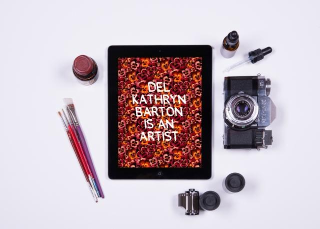 DF iPad app - Del Kathryn Barton