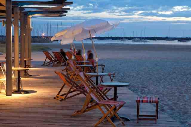 West Beach Bathers Pavilion dusk